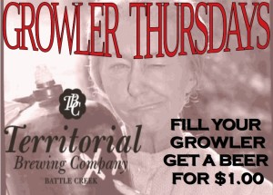 Growler Thurs